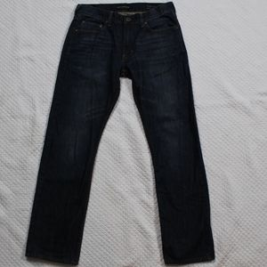 Bullhead Slim Straight Blue Denim Jeans Dark 30X30